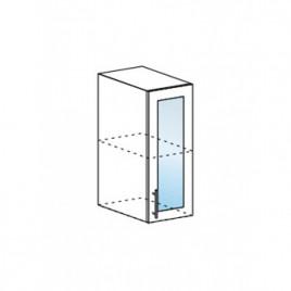 Техно шкаф верхний со стеклом ШВС-300
