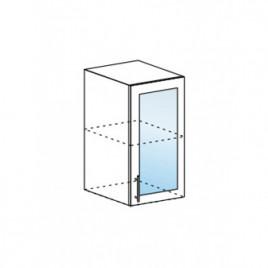 Техно шкаф верхний со стеклом ШВС-400