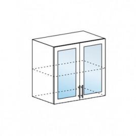 Техно шкаф верхний со стеклом ШВС-800