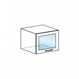 Техно шкаф горизонтальный со стеклом ШВГС-500