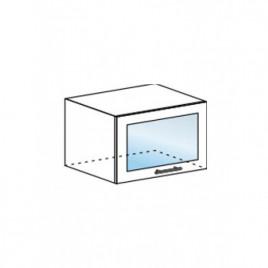 Техно шкаф горизонтальный со стеклом ШВГС-600
