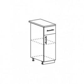 Техно шкаф нижний с 1 ящиком ШН1Я-300