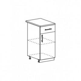Техно шкаф нижний с 1 ящиком ШН1Я-400