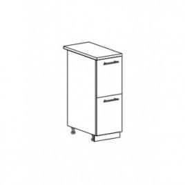 Техно шкаф нижний с 2 ящиками ШН2Я-300