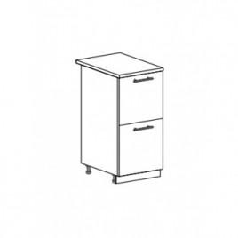 Техно шкаф нижний с 2 ящиками ШН2Я-400