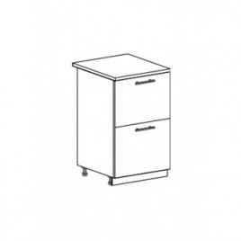 Техно шкаф нижний с 2 ящиками ШН2Я-500