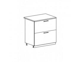 шкаф нижний с 2 ящиками ШН2Я-800 Бостон
