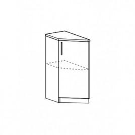 Техно шкаф нижний торцевой ШНТ-300