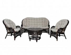 Комплект плетеной мебели Churchill, 3-х местный диван