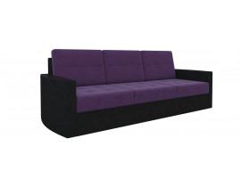 Диван Белла - Вельвет люкс Фиолетовый+Черный
