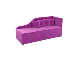 Детский диван Дюна - Вельвет фиолетовый цвет