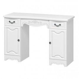 Макияжный стол Лотос белый