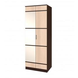 Сакура шкаф для платья и белья 2 зеркало