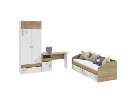 Набор детской мебели «Оксфорд» стандартный (Ривьера/Белый)