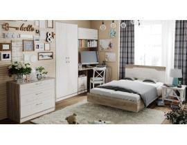 Набор детской мебели «Брауни» №1 (Беж/Дуб Сонома трюфель)